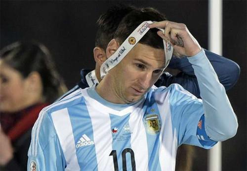 Messi luôn khẳng định bản thân trong sạch trong các vụ rắc rối về thuế. Ảnh: Reuters