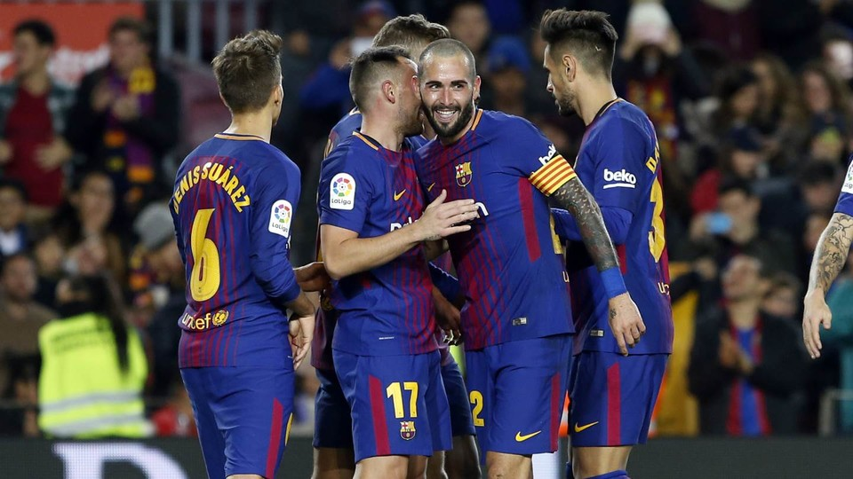 Dù không có Messi thì Barca vẫn chiến thắng