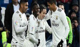 Real vượt mặt Sevilla, định hình top 3