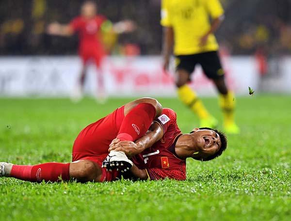 Những chấn thương trong bóng đá hay gặp