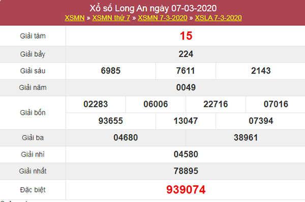 Dự đoán kqxs Long An 14/3/2020 - Soi cầu XSLA hôm nay