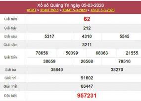 Phân tích kqxs Quảng Trị 12/3/2020 - Kết quả XSQT thứ 5