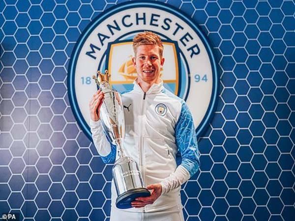 Tin bóng đá chiều 7/6: De Bruyne xuất sắc nhất Ngoại hạng Anh 2020/21
